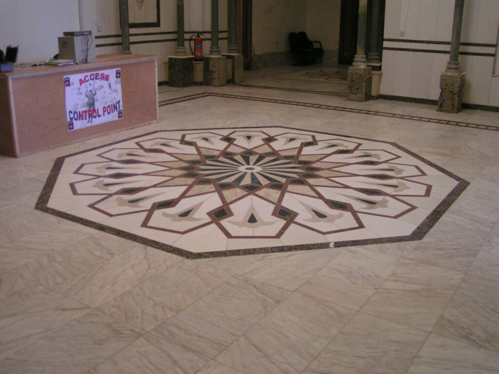 D-Main entrance control point